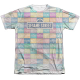 Sesame Street- Logo Color Block Sublimated