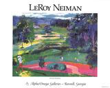 Atlanta National Samlertryk af LeRoy Neiman