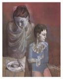 Mãe e Filho Impressão colecionável por Pablo Picasso