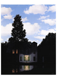 L'impero delle luci Stampa di Rene Magritte