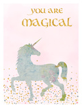 You Are Magical 2 Poster van  Peach & Gold