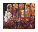 Metropolitan Opera Lámina coleccionable por LeRoy Neiman