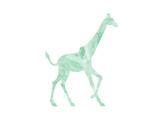 Giraffe Art by  Peach & Gold