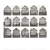 Half-Timbered Houses (no text) Prints by Bernhard And Hilla Becher