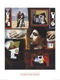 Etudes Impressão colecionável por Pablo Picasso