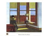 Room in Brooklyn Samlertryk af Edward Hopper
