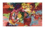 Rocky Vs. Apollo Kunst von LeRoy Neiman