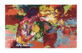 Rocky Vs. Apollo Posters by LeRoy Neiman