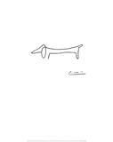 Le chien Poster par Pablo Picasso