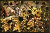Sheila Wolk Chameleon Art Print Poster Impressão em tela esticada