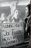 Muhammad Ali vs. Joe Frazier - Window Taunt Stretched Canvas Print