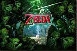 Zelda - Forest Stretched Canvas Print