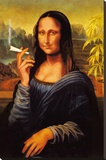 Mona Lisa - Joint Stretched Canvas Print