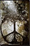 David Wolcott Wilhelm (Tree of Peace) Stretched Canvas Print by David Wolcott Wilhelm