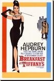 Breakfast At Tiffany's Stretched Canvas Print