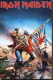 Iron Maiden Bedruckte aufgespannte Leinwand