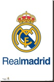 Real Madrid FC - Shield Stretched Canvas Print
