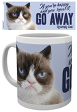 Grumpy Cat Go Away Mug Taza