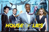 House of Lies - Group Stretched Canvas Print
