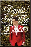 Panic At The Disco- Green Ivy & Red Suit Stretched Canvas Print