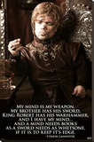 Game of Thrones – Tyrion Stretched Canvas Print