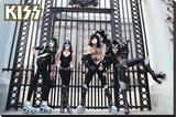 Kiss- At the Gates Opspændt lærredstryk