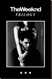 The Weeknd Trilogy Stretched Canvas Print