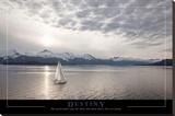 Destiny - Sailboat Stretched Canvas Print