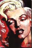 Hot! - Marilyn Monroe Pingotettu canvasvedos tekijänä Stephen Fishwick
