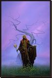 Michael Whelan- Destroying Angel Stretched Canvas Print by Michael Whelan