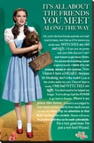 Wizard of Oz Friends Stretched Canvas Print