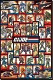 GI Joe Cast Stretched Canvas Print