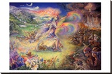 No More Stretched Canvas Print by Josephine Wall