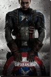 Captain America Stretched Canvas Print