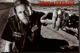 Sons of Anarchy Jackson TV Poster Print Stretched Canvas Print