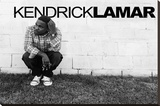 Kendrick Lamar Music Poster Stretched Canvas Print