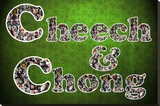 Cheech and Chong Mosaic Logo Movie Poster Reproducción de lámina sobre lienzo