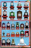 Thomas and Friends - Characters Stretched Canvas Print