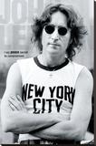 John Lennon - New York Stretched Canvas Print