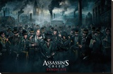 Assassins Creed Syndicate- Crowd Stampa su tela