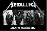 Metallica Stretched Canvas Print