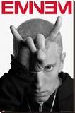 Eminem - Horns Stretched Canvas Print