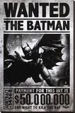 Batman Arkham Origins - Wanted Stampa su tela