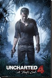 Uncharted 4- A Thiefs End Opspændt lærredstryk