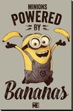 Despicable Me - Powered by Bananas Opspændt lærredstryk