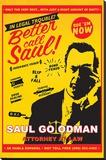 Breaking Bad (Better Call Saul Attorney At At Law) Trykk på strukket lerret