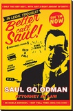 Breaking Bad (Better Call Saul Attorney At At Law) Stretched Canvas Print