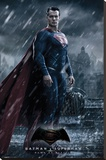 Batman vs. Superman- Superman Stretched Canvas Print