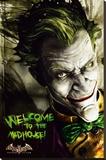 Batman Arkam Asylum Stampa su tela