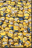 Despicable Me - Many Minions Stretched Canvas Print